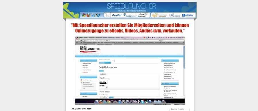 Daniel Dirks - Speedlauncher