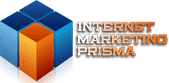 IMP – Internet Marketing Prisma – Logo für Mobilgeräte