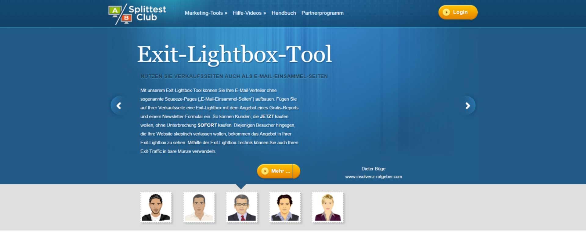 Das-Exit-Lightbox-Tool