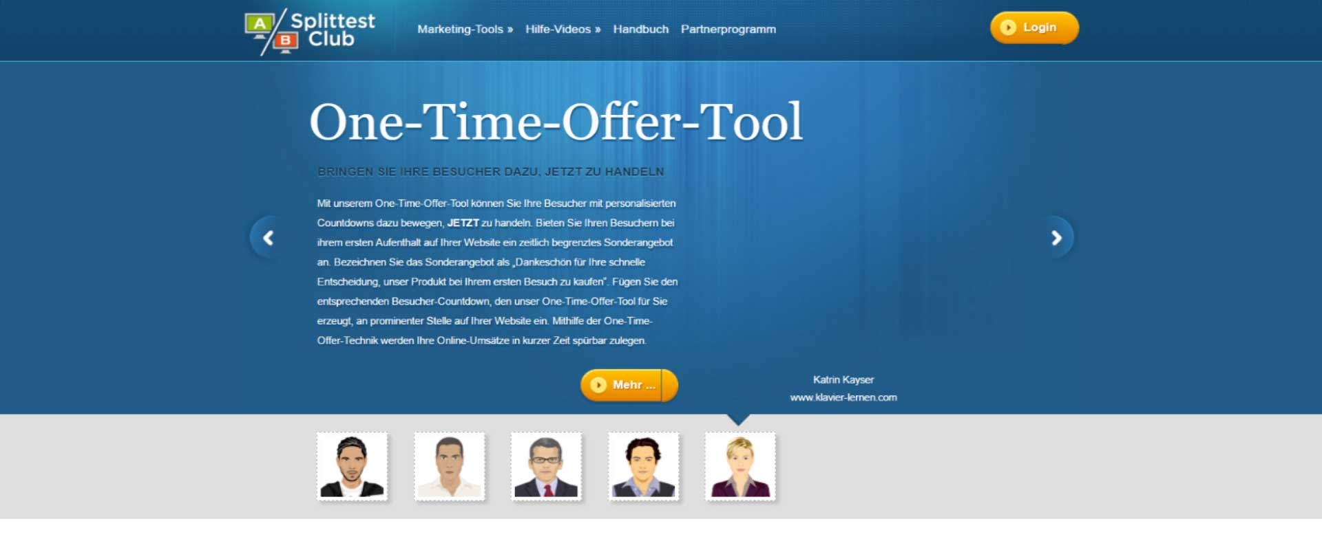 Das-One-Time-Offer-Tool