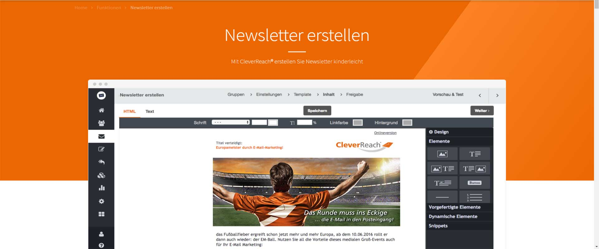 CleverReach-Newsletter-erstellen