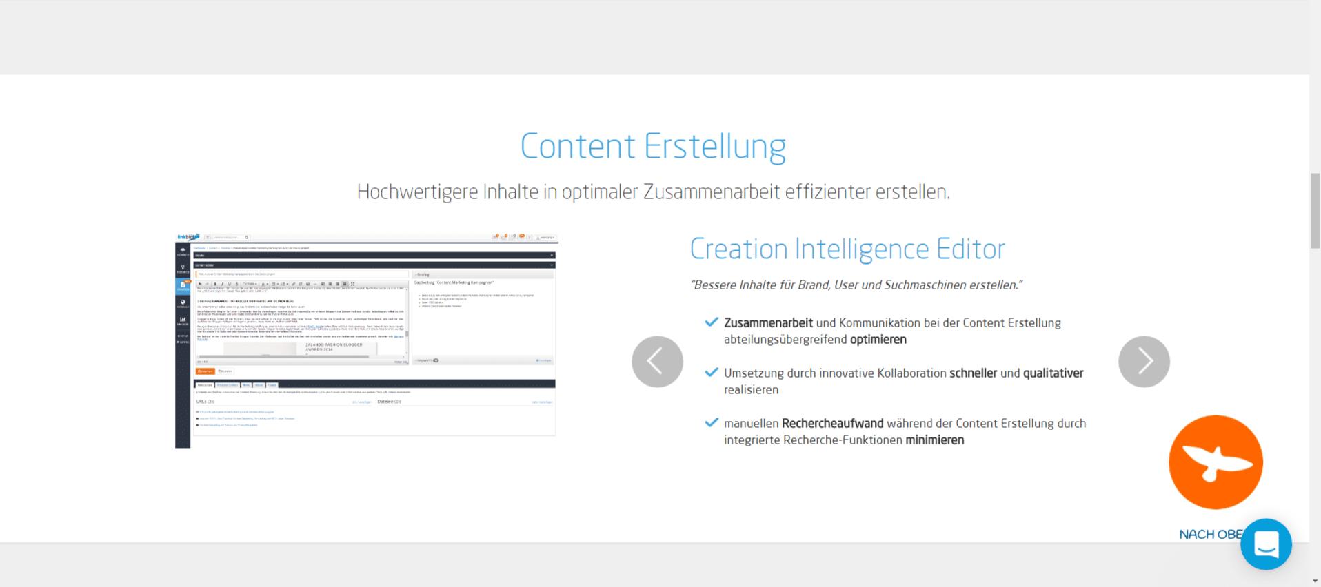 Linkbird - Content Erstellung