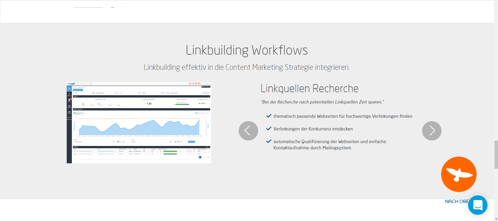 Linkbird - Linkbilding Workflows